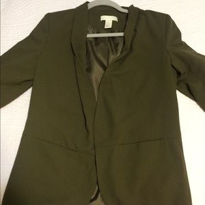 Army Green H&M Blazer
