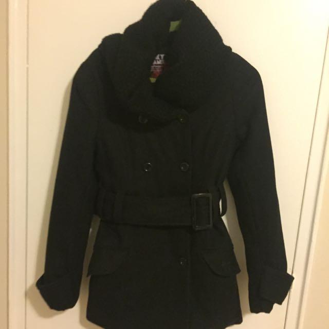 Black Formal Winter Jacket