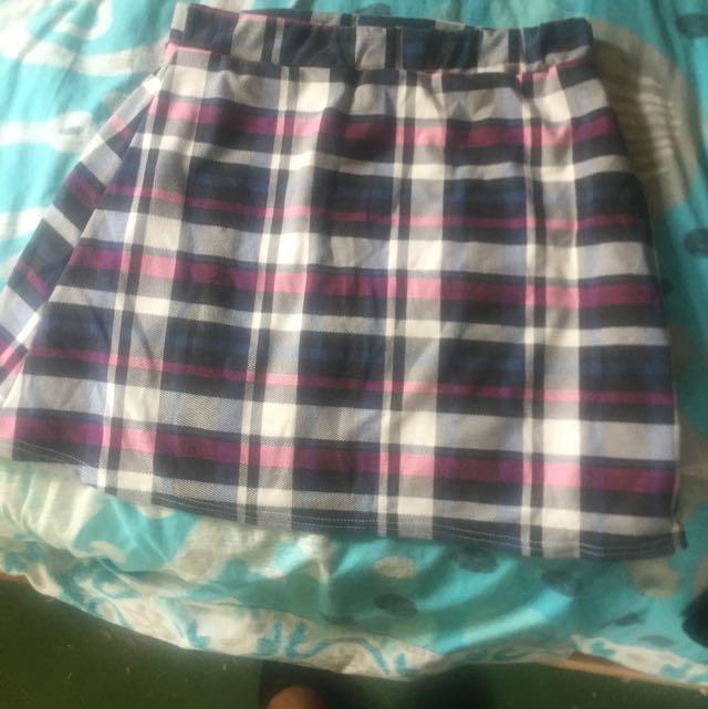 Boohoo Pleaded Skirt