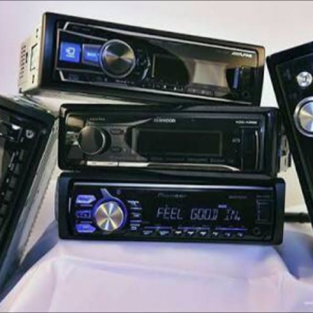 Car Stereos & Head Units AUX USB DVD MP3 BLUETOOTH