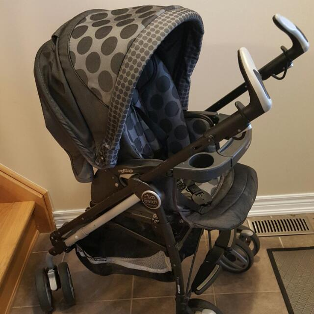 Cat Seat and Stroller Combo Peg Perego
