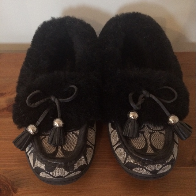Coach Slippers Size 7