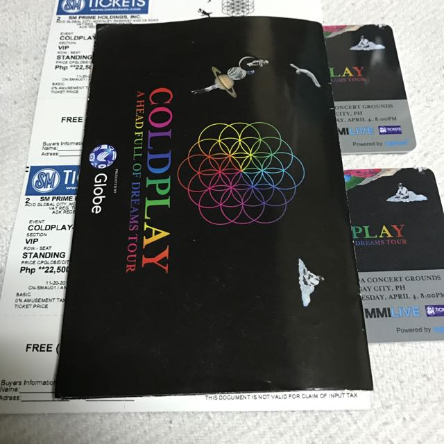 Coldplay VIP