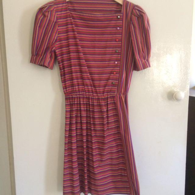 Cute Vintage Dress AU Size 10