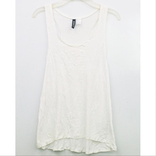 Divided White Top