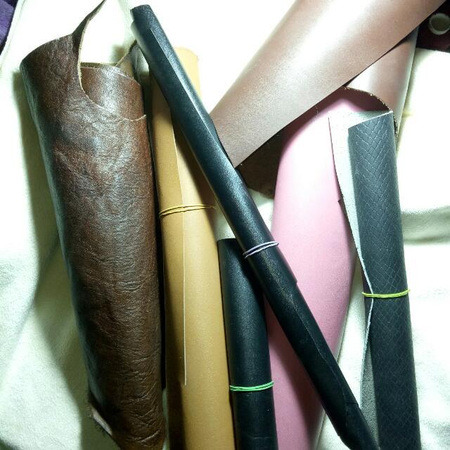 Genuine Leather Scrap For Sale
