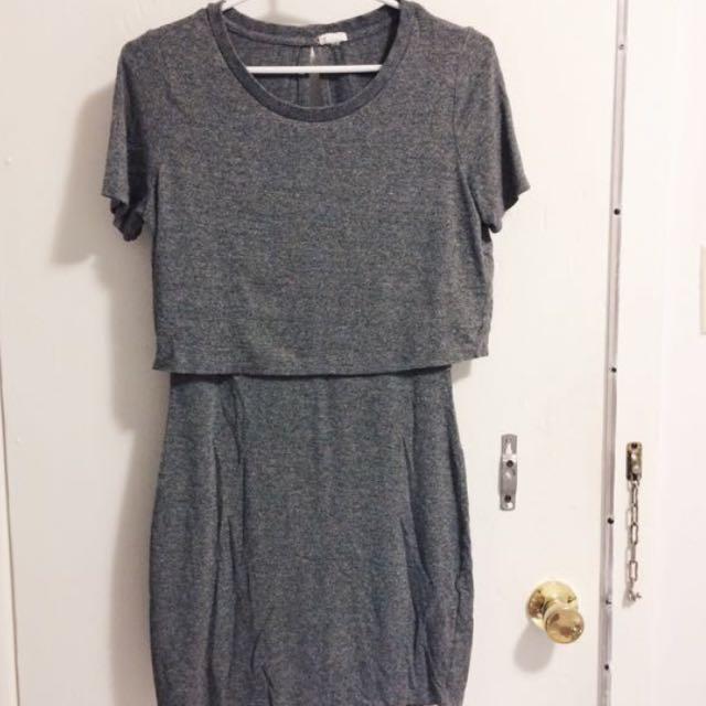 Grey Garage Dress