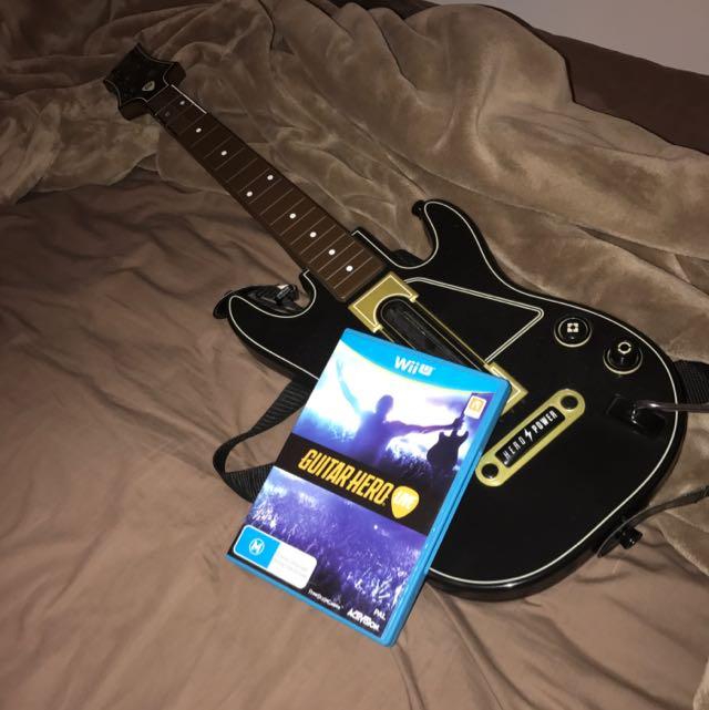 Guitar Hero: Live. w/Guitar