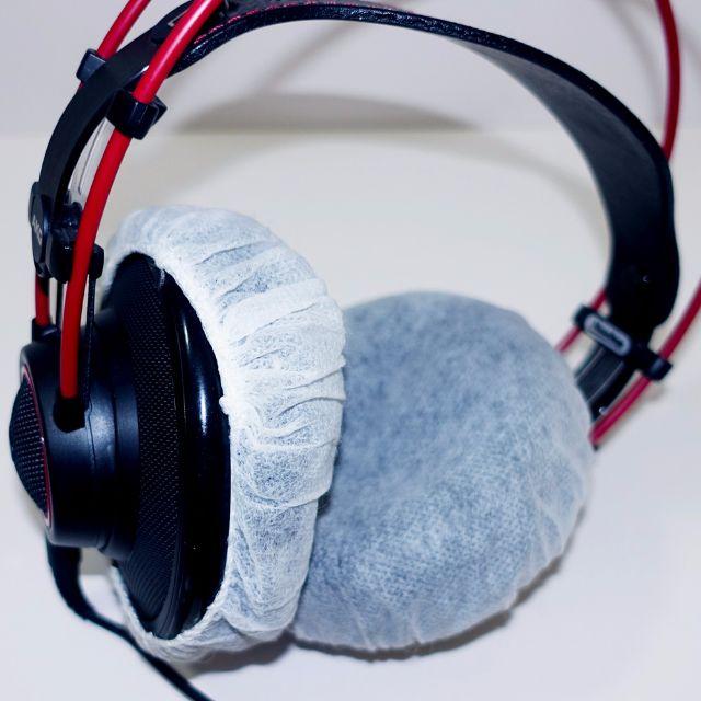 17e4c2b091e Hygienic Disposable Headphone Covers Headphones Fabric Earphone Muff  Earphones, Electronics, Audio on Carousell