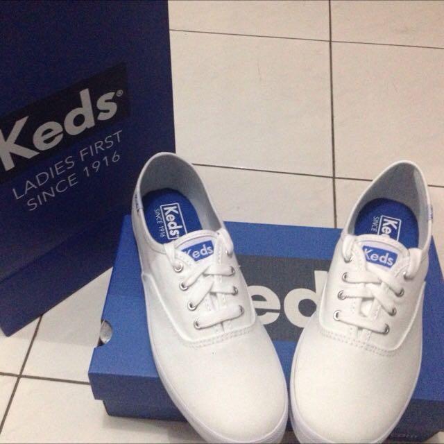 KEDS Champion White