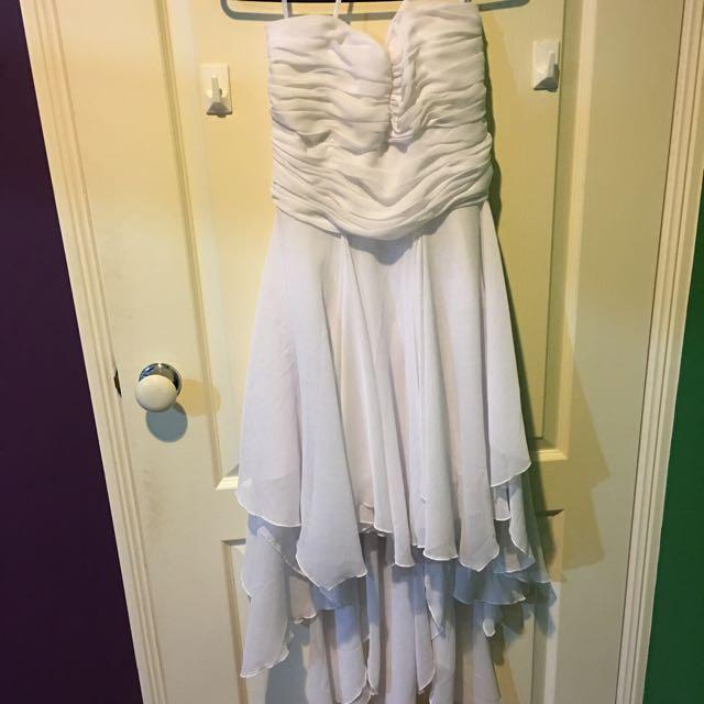 Knight Angel White Dress