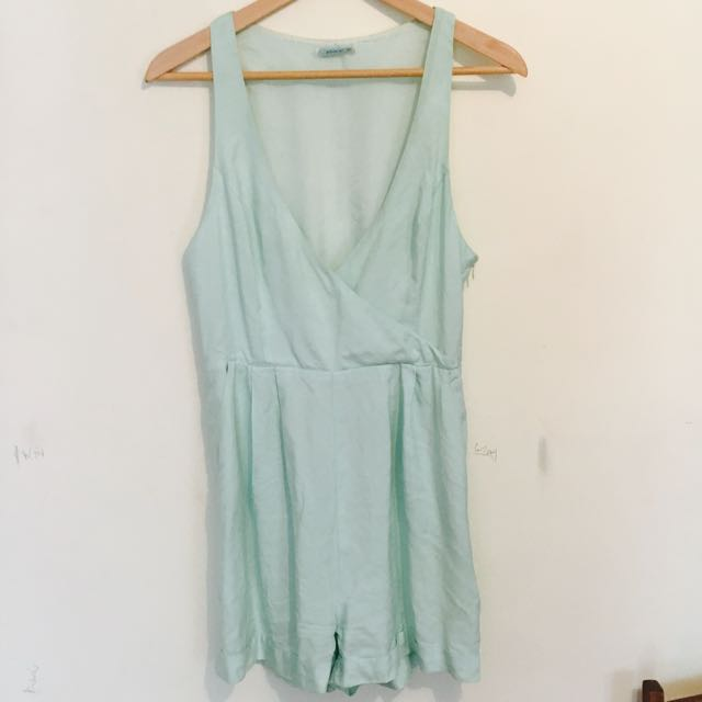 Kookai Mint Green Playsuit