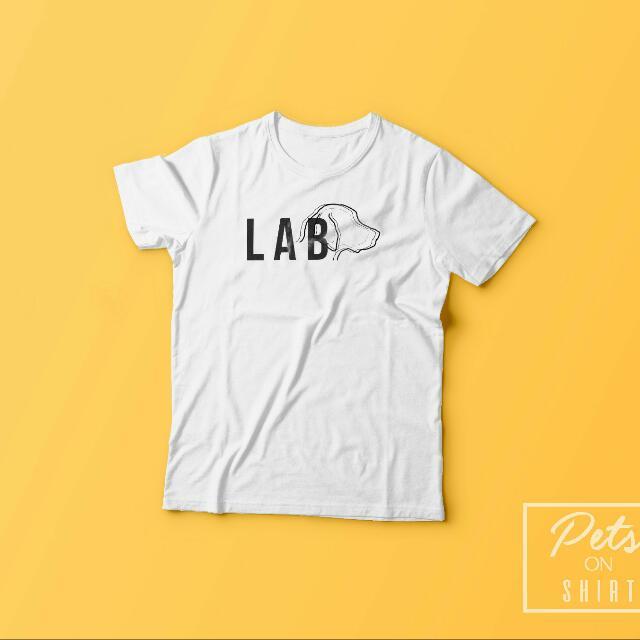 Labrador Shirt. Kaos Anjing Utk Manusia