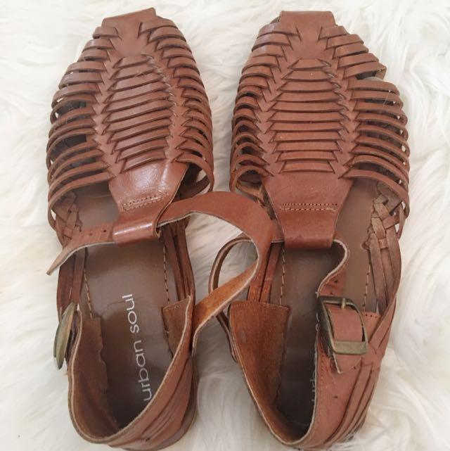 Leather Boho Sandals