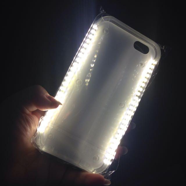 BLACK CASE💡LIGHT UP💡iPhone 6 / 6 + Phone case In BLACK