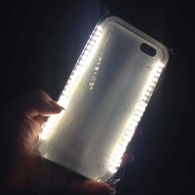 WHITE CASE💡LIGHT UP💡iPhone 6 / 6+ Phone Case In White