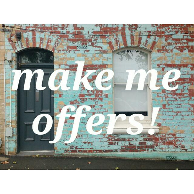 Make Me Your Best Offer!
