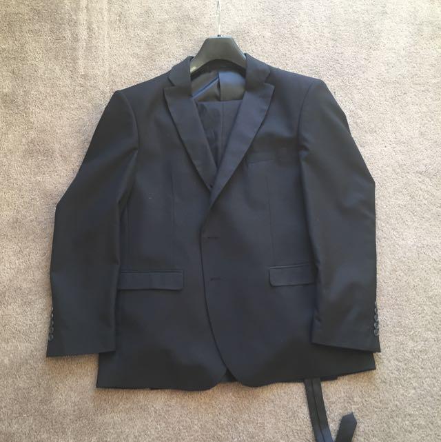 Men's Black Suit Size 42
