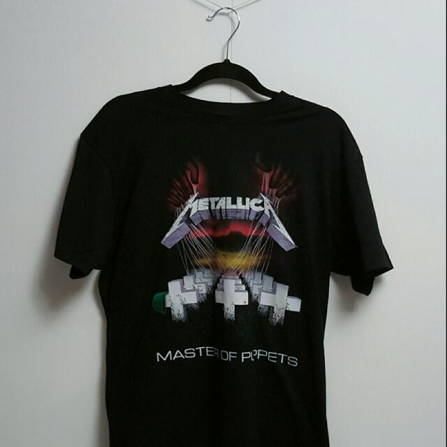 Metallic - Band Tee