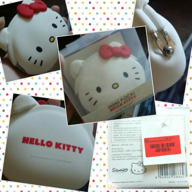 Mimi Pochi Original Hello Kitty Silicon Coin Purse