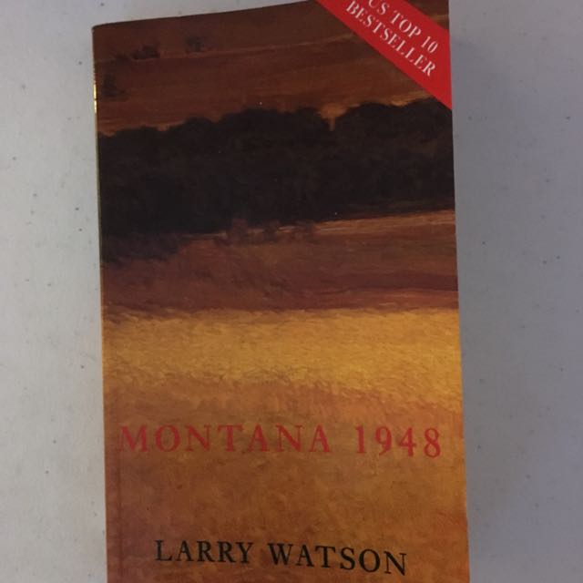 Montana 1948 Novel