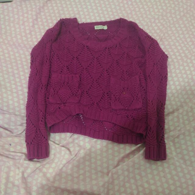 Mooloola Purple Jumper.