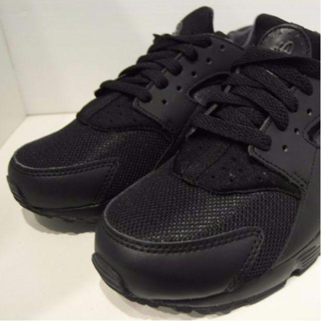 台灣未發售NIKE AIR HUARACHE TRIPLE BLACK 黑武士 654275-020 GD 權志龍