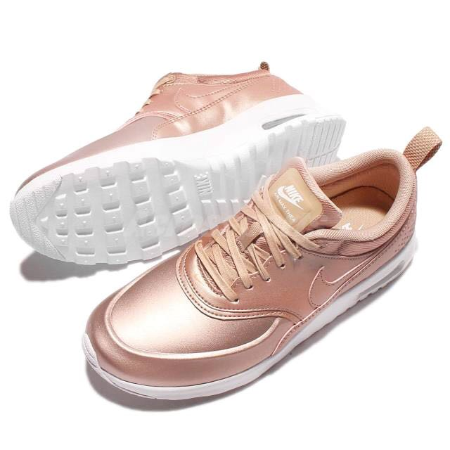 Nike Air Max Thea Ultra Premium In Rose Gold/Metallic Red Bronze ...