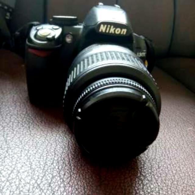 Nikon DSLR D3100 + Lensa