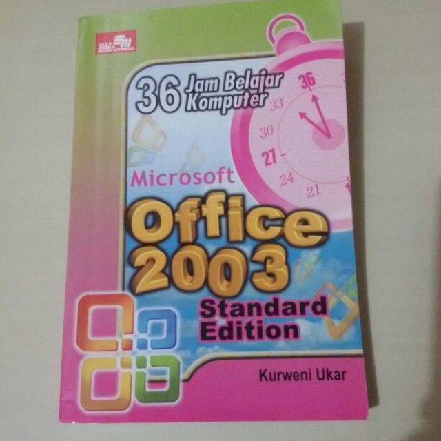 Office 2003 , 36 jam belajar komputer