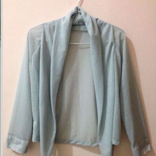 outer cardigan grey