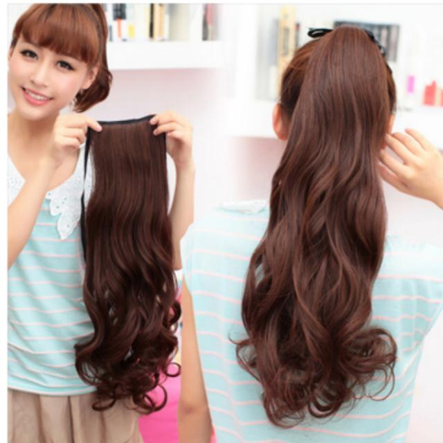 Hair Extensions Ponytail Womens Fashion Accessories On Carousell