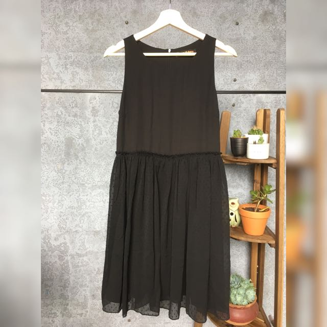 Princess Highway Black A-Line Dress