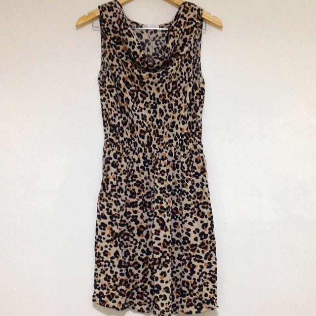 Promod Animal Print Dress