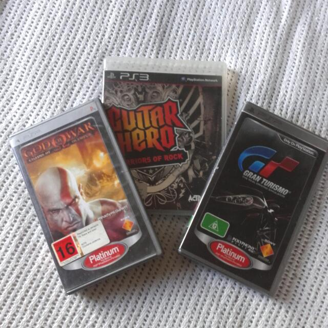 PSP & PS3 Games