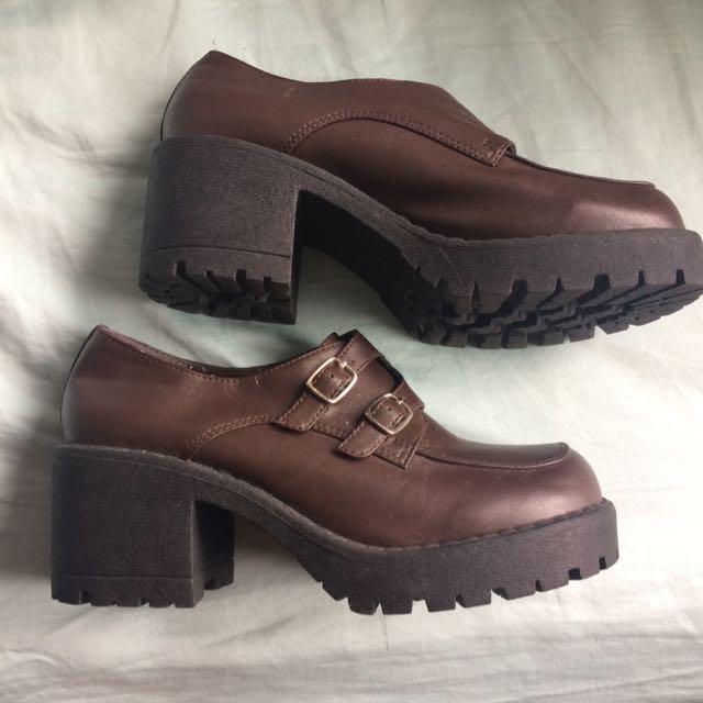Retro Brown Shoes