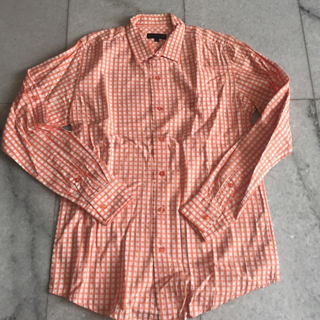 Salt N Pepper Orange Shirt