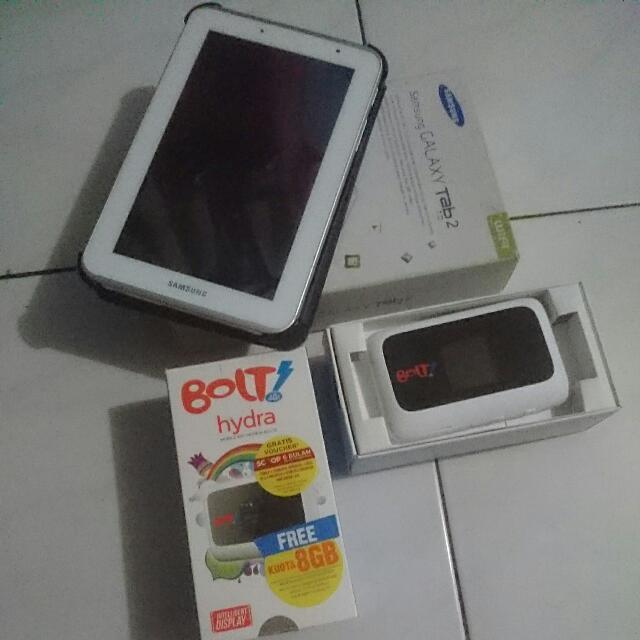 Samsung Galaxy Tab2 Dan Bolt 4g