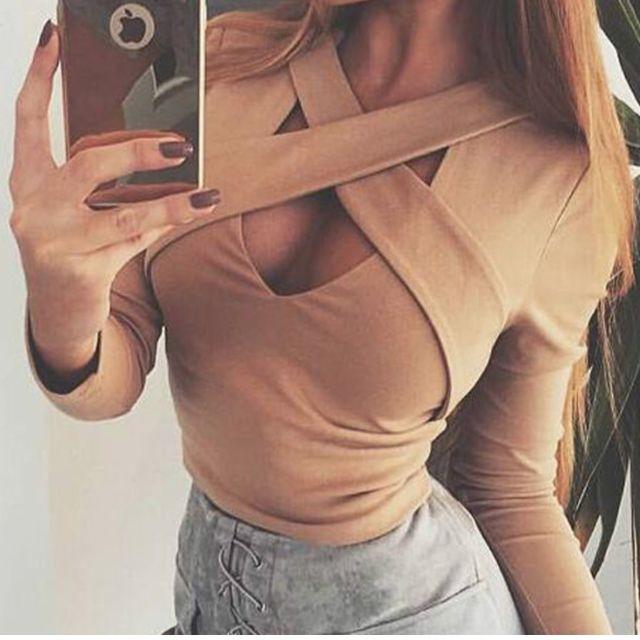 Sexy cross strap top ✖️