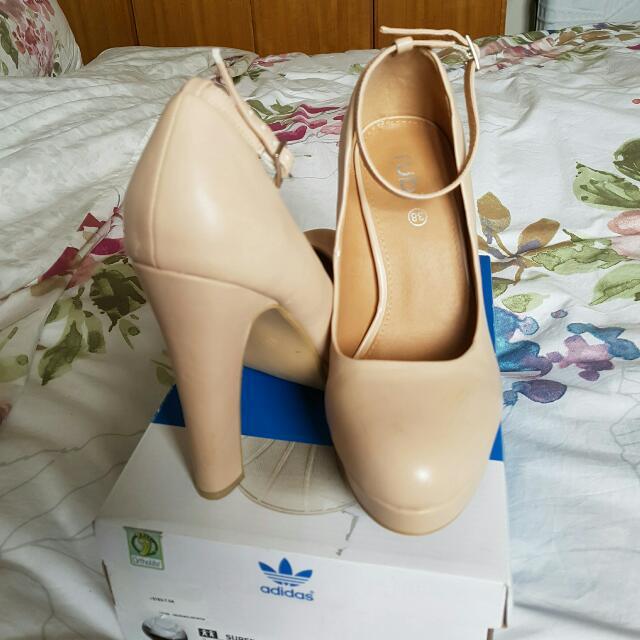 Size 7/38 Heels