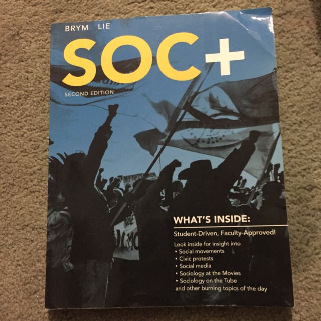 Sociology textbook second edition - Brim, Lie