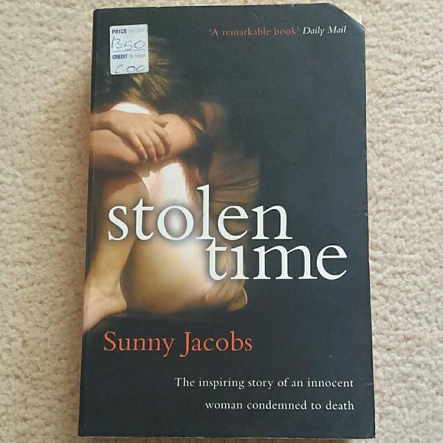 Stolen Time By Sunny Jacobs