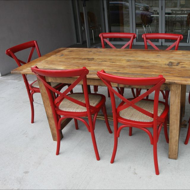 12204c61876f Teak Dining Table   Chairs