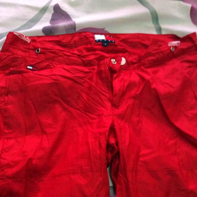TOMMY HILFIGER (red) Jogging Pants / Sweat Pants