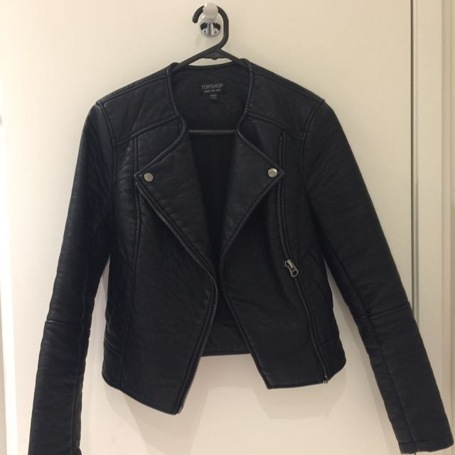 Topshop Leather Jacket