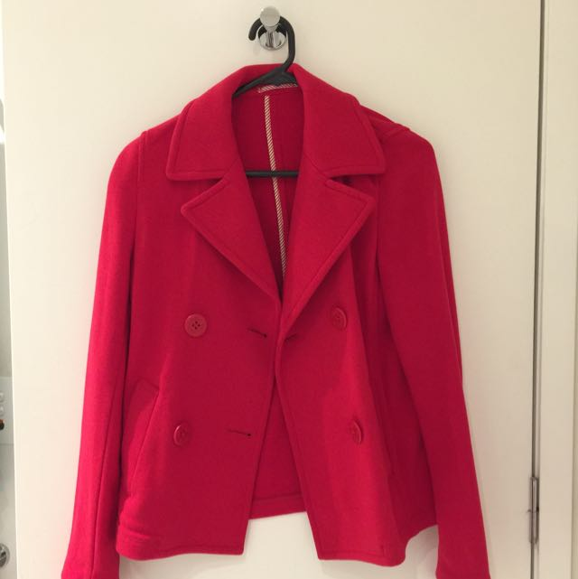 Uniqlo Red Jacket/blazer