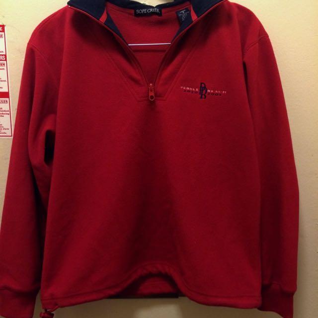 Vintage Half Zip Sweater