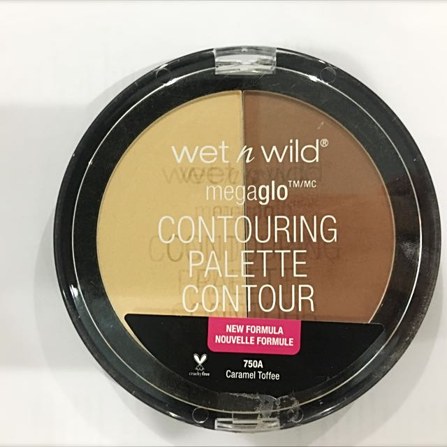 Wet N Wild: Megaglo Contouring Palette In CARAMEL TOFFEE