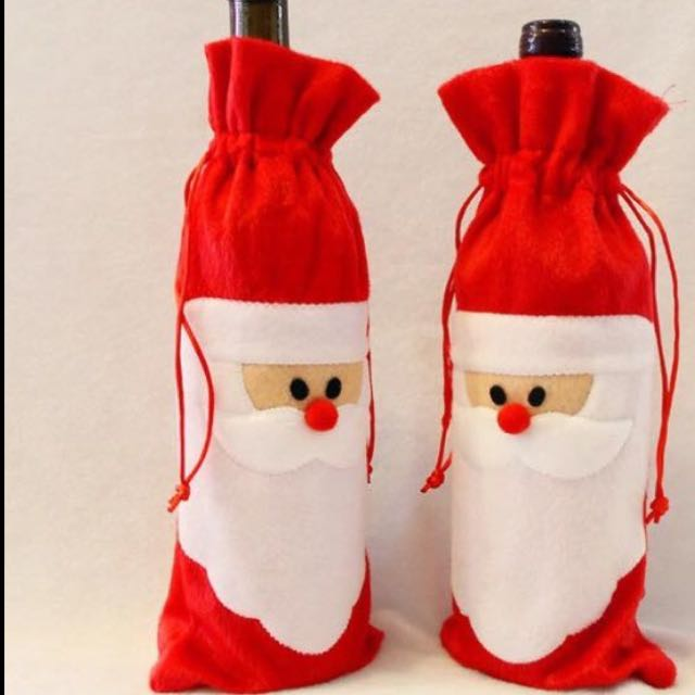 Xmas Bag/Bottle Cover
