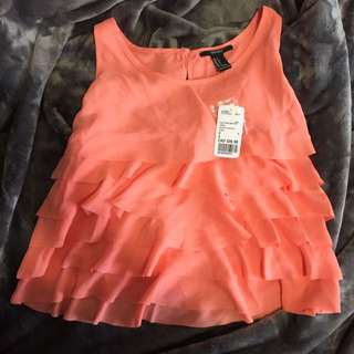 Forever21 Coral Top